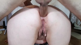 Stepmom Big Ass Creampie Pussy And Anal