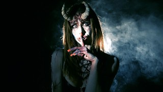 Fortuneteller Teen In The Forest Turns Into A Succubus Horny For Devil Cum