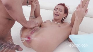 Veronica Leal Balls Deep Fucking 3on1 With DP Piss Drinking