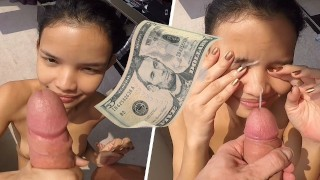 Young Thai Street Teen Fucked And Facialized For 5 Dollars