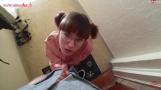 Cute Student Fucked By The Caretaker!