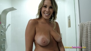 After The Shower Sex With My Step Mom – Nikki Brooks