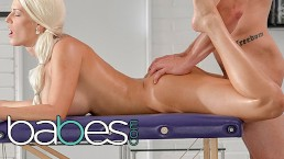 BABES – Blanche Bradburry Gets A Full Service Anal And Massage