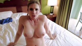 Fucked My Step Moms New Friend, Then Turned It Into A Threesome – Amiee Cambridge And Cory Chase