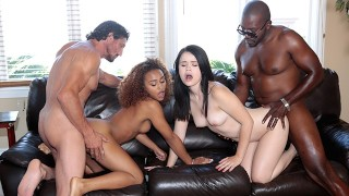 DaughterSwap – Pervy Dads Fuck And Share Daughters