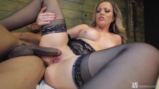 Horny Carmen Valentina Is Snatch Stuffed By Big Thick Dick!