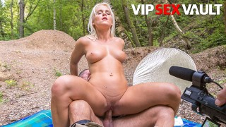 ExposedCasting – Rossella Visconti Blonde Czech Slut Outdoor Fuck With Horny Casting Agent