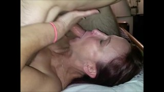 Boyfriend Watches Milf Repay Debt To Cheating Neighbor Gets Face Fucked