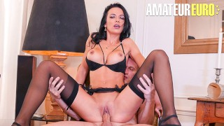 LaCochonne – Shalina Devine Big Tits Romanian MILF Gets Her Holes Filled With Big Cock – AMATEUREURO