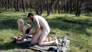 Fucking In The Forest – We Got Caught! Uncut Version