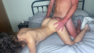 Big Booty Beauty Rides Him Until He Cums In Her Pussy