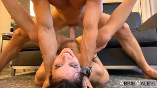 Brunette Fitness Girl Fucked To Multiple Orgasms By Johnny Sins – Abbie Maley