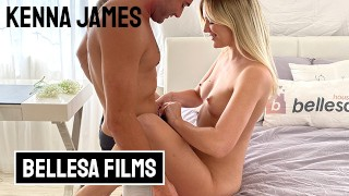 Bellesa – Kenna James And Nathan Bronson In Playful And Passionately Intense Sextape
