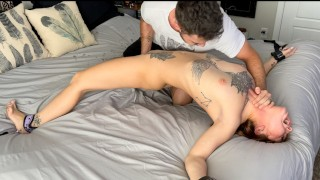 """""""THANK YOU SO FUCKING MUCH!"""" Multiple BRAIN MELTING Orgasms For Sexy Redhead Babe"""